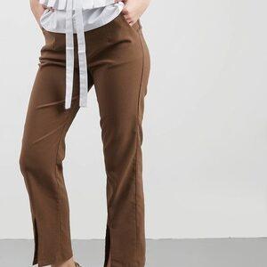 1. Coup Belle Hexara Brown Pants
