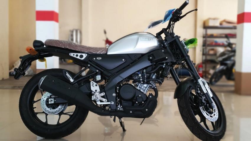 Dimensi Yamaha Xsr 155