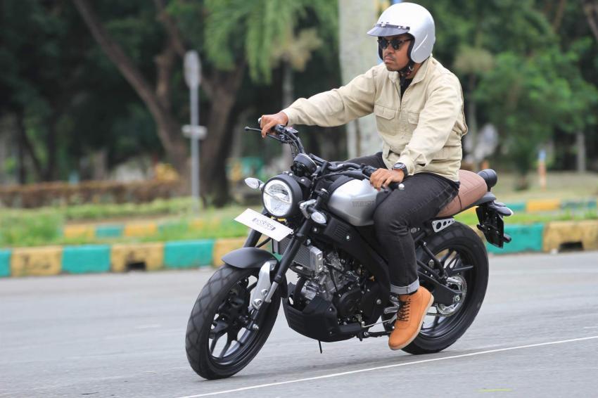 Suspensi Dan Pengereman Yamaha Xsr 155
