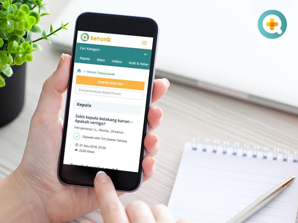 SehatQ menghadirkan forum kesehatan